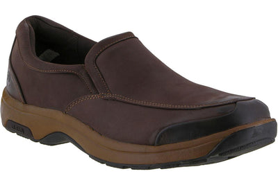 Dunham Battery Park Slip On Brown Nubuck