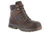 "Dunham 8000Works 6"" Safety Toe Boot Brown"