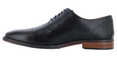 Florsheim Salerno Cap Toe Oxford Black