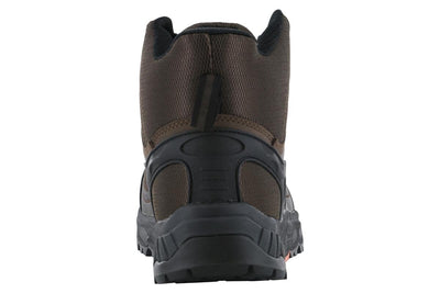 Hoss Eric Hi Safety Toe Brown