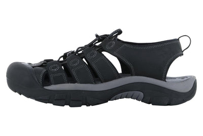 Keen Newport Leather Sandal Black