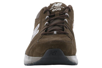 New Balance 608V5 Chocolate Trainer