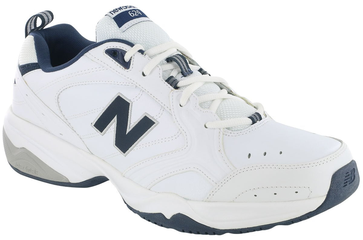 598682ac308 New Balance 624 White Trainer - 2BigFeet