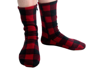 Polar Feet Nonskid Socks Lumberjack