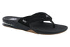 Reef Fanning Bottle Opener Flip Flop Black