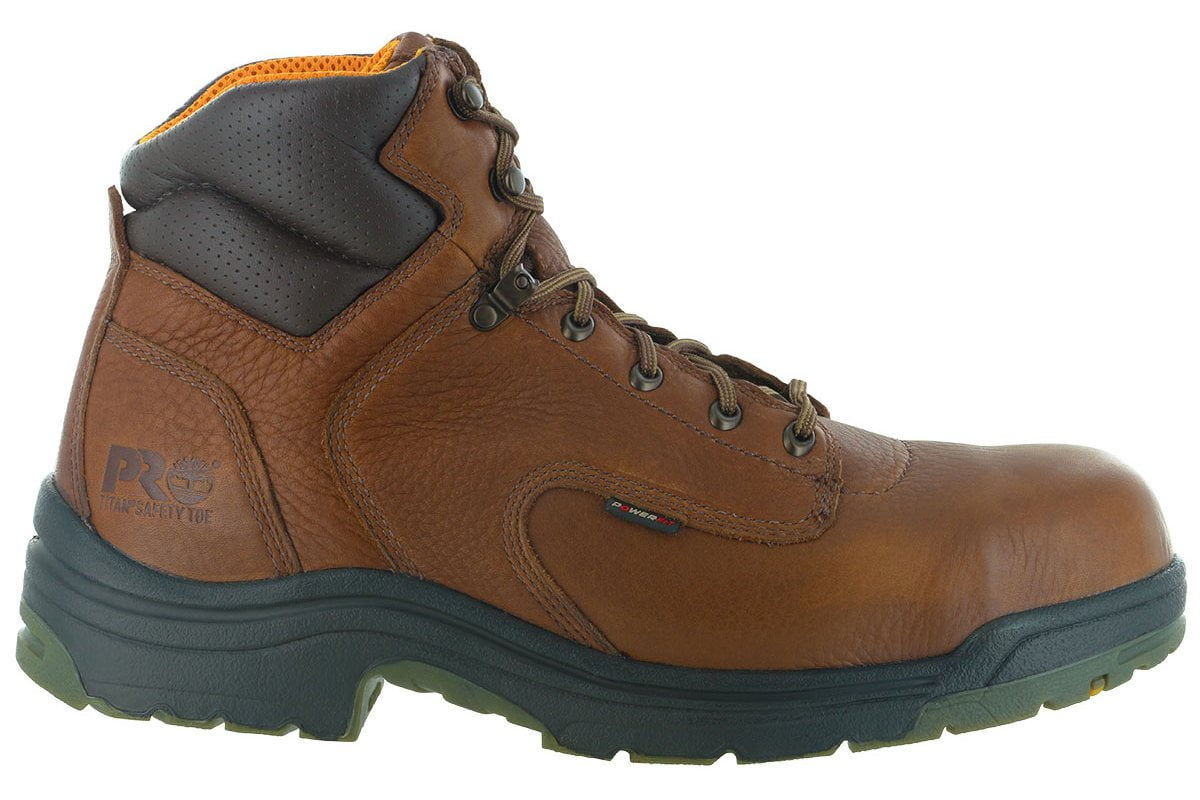 3218cd70ddb Timberland PRO Titan 6 Inch Safety Toe Boot Brown
