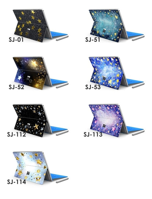 Stars Microsoft Surface Pro 3 4 Decal Skin Sticker