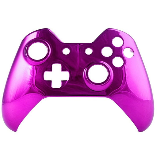 Chrome Purple Front Shell For Xbox One Controller