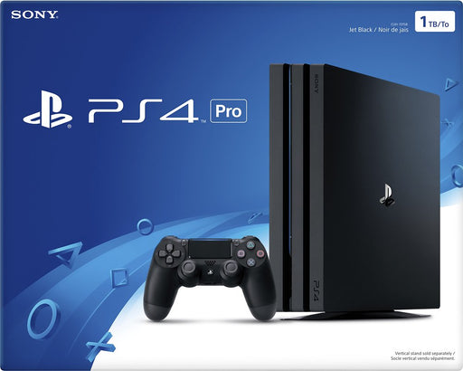 Sony PlayStation 4 Pro 1TB Gaming Console, Black with FREE Gift PS4 controller case