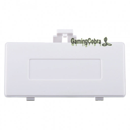 Custom Battery Door Cover Repair Replacement Part for GB Gameboy Pocket White