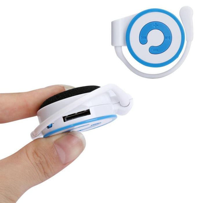 TechKara Mini On Ear MP3 Player with radio