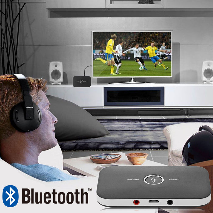 TechKara 2 in 1 Bluetooth 4.1 Wireless Audio Transmitter and Receiver