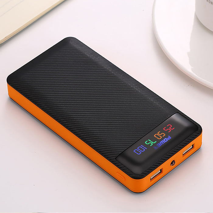 TechKara Dual USB Power Bank Case 4x18650 Battery DIY Box Case