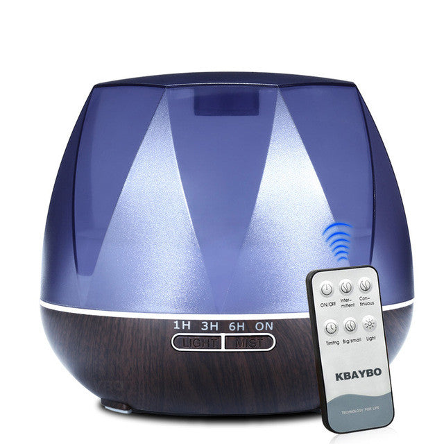 550ml Air Humidifier Essential Oil Diffuser Ultrasonic Humidifier