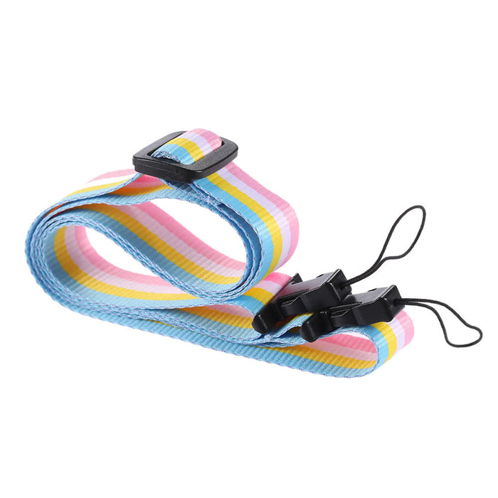 TechKara Rainbow Camera Neck Strap for Fujifilm Instax Mini 8 70 Film Camera