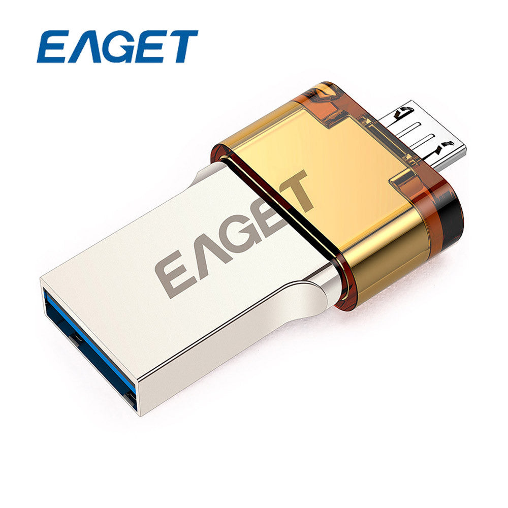 EAGET V80 64GB Metal OTG USB 3.0 Pen Drive for Android Smartphone