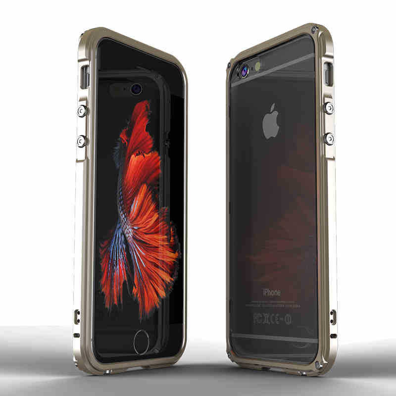 TechKara Luxury Aluminum Casing iPhone Case