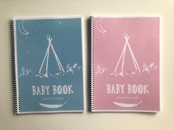 Soft cover baby books