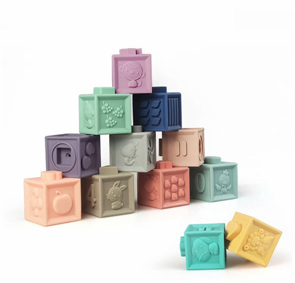 Silicone Sensory/Building Blocks