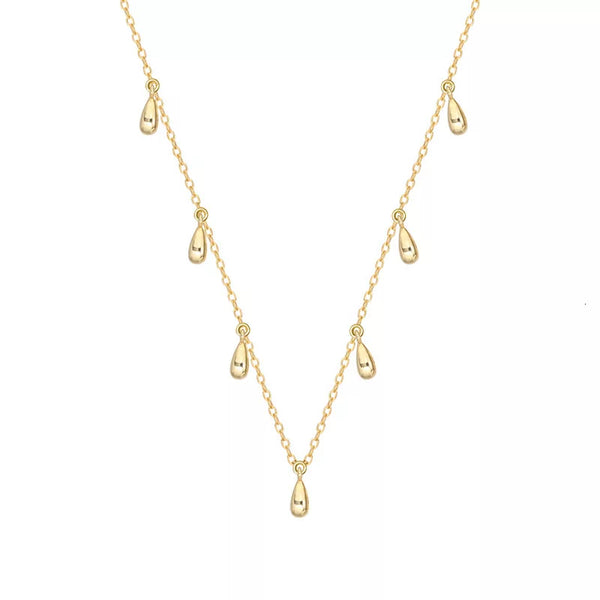 Gold Plated Waterdrop Necklace