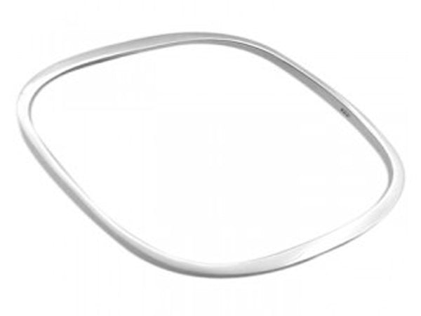 Square Flat 3mm .925 Sterling Silver Bangle - Essentially Silver Jewelry