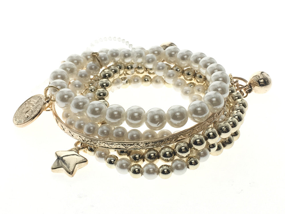 Fashion cluster bracelets - Essentially Silver Jewelry