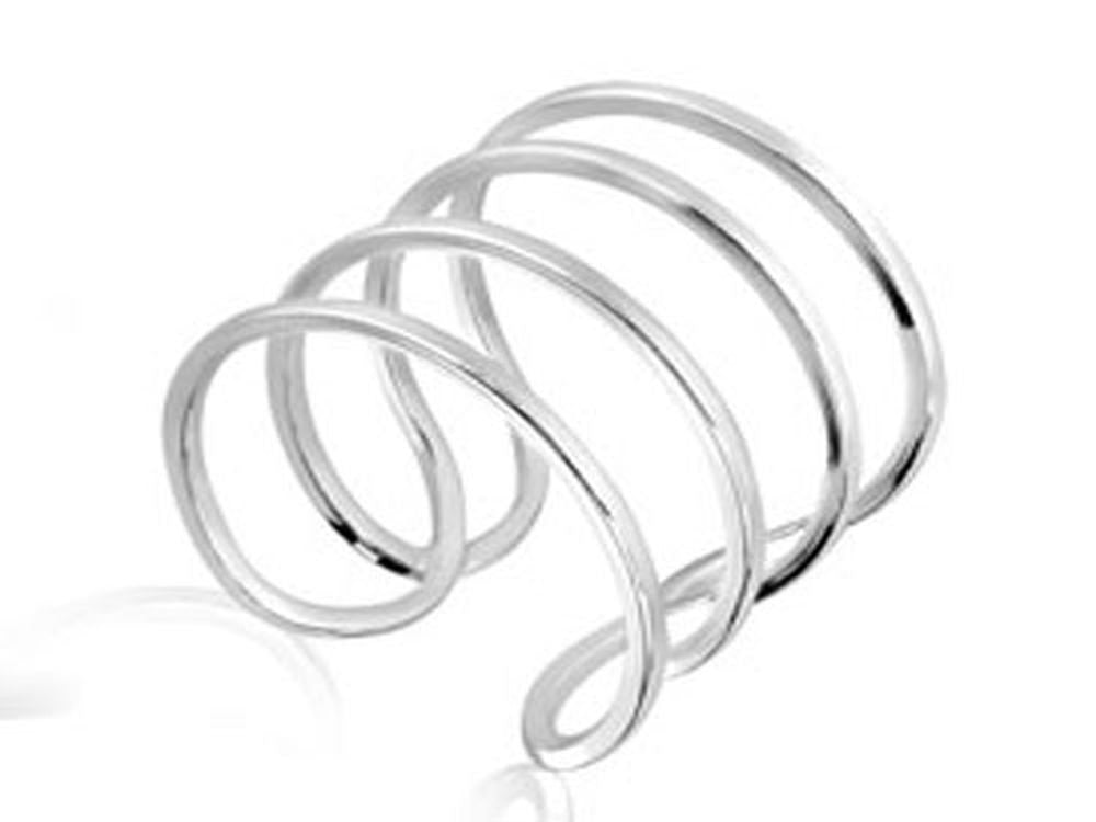 Midi Spring .925 Sterling Silver Ring - Essentially Silver Jewelry