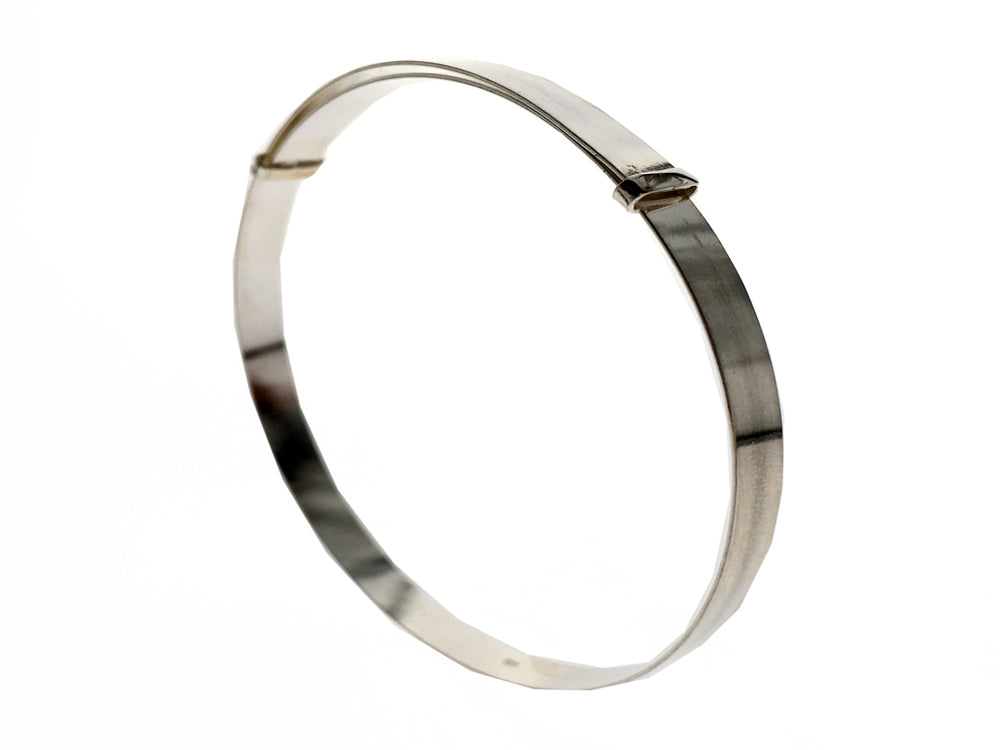 Expandable Sterling Silver Bangle - Essentially Silver Jewelry