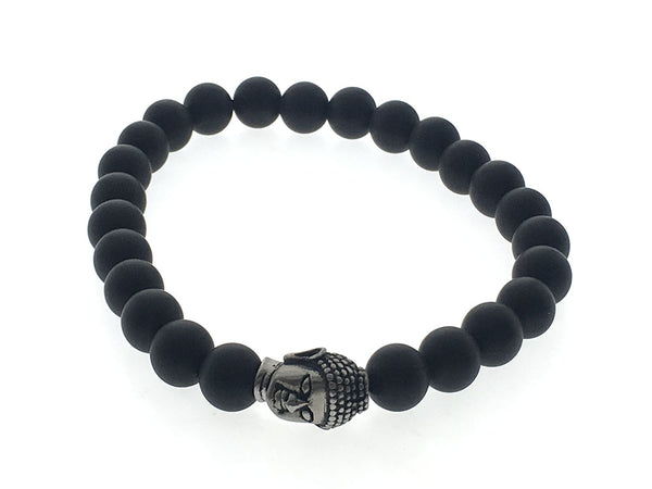 Ball black gate budha fashion bracelet