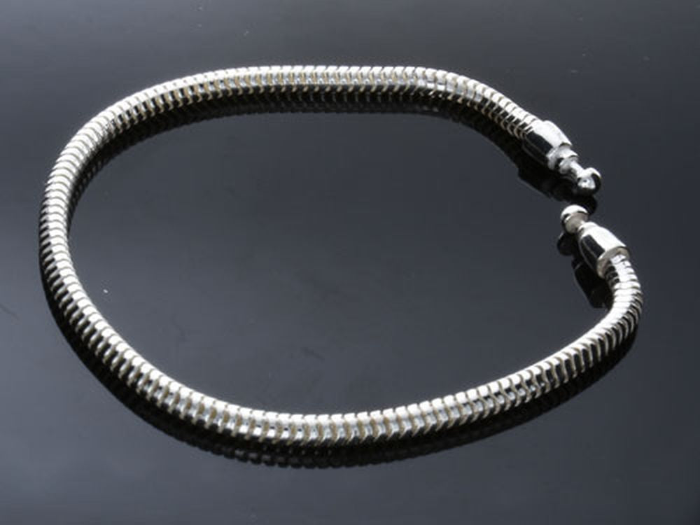 Pandor@ Style Sterling Silver Bracelet - Essentially Silver Jewelry