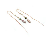 Bijou Simulated pearl drop alloy earring - Essentially Silver Jewelry