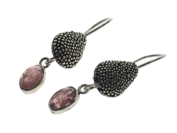 Gemstone .925 Sterling Silver Earrings - Essentially Silver Jewelry