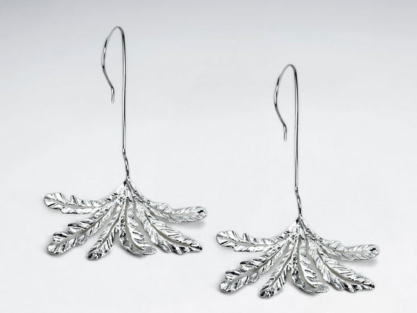 Sterling Silver Duster Drop Dangle Earrings