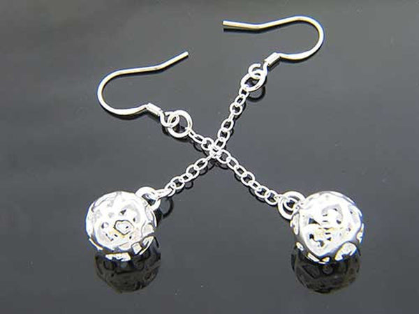 Dangling ball earrings - Essentially Silver Jewelry