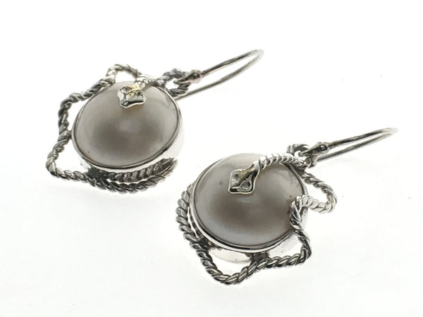 Pearl Silver Jazzy .925 Sterling Silver Earring