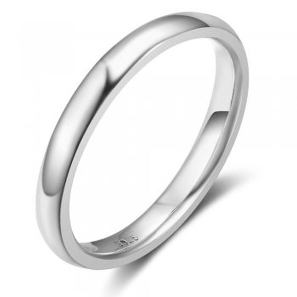 Plain 3mm Half Wire Round Ring