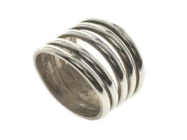 Spring .925 Sterling Silver Ring - Essentially Silver Jewelry