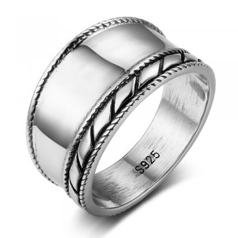 Bali Design Sterling Silver Ring - Essentially Silver Jewelry