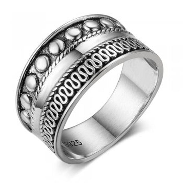 Bali Design Sterling Silver Ring