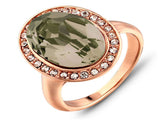 Rose Gold Plated Austria Rhinestone Ring