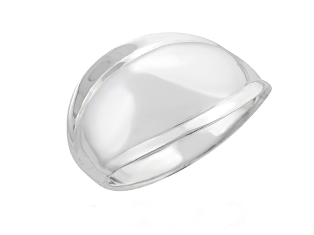 Shield .925 Sterling Silver Ring - Essentially Silver Jewelry