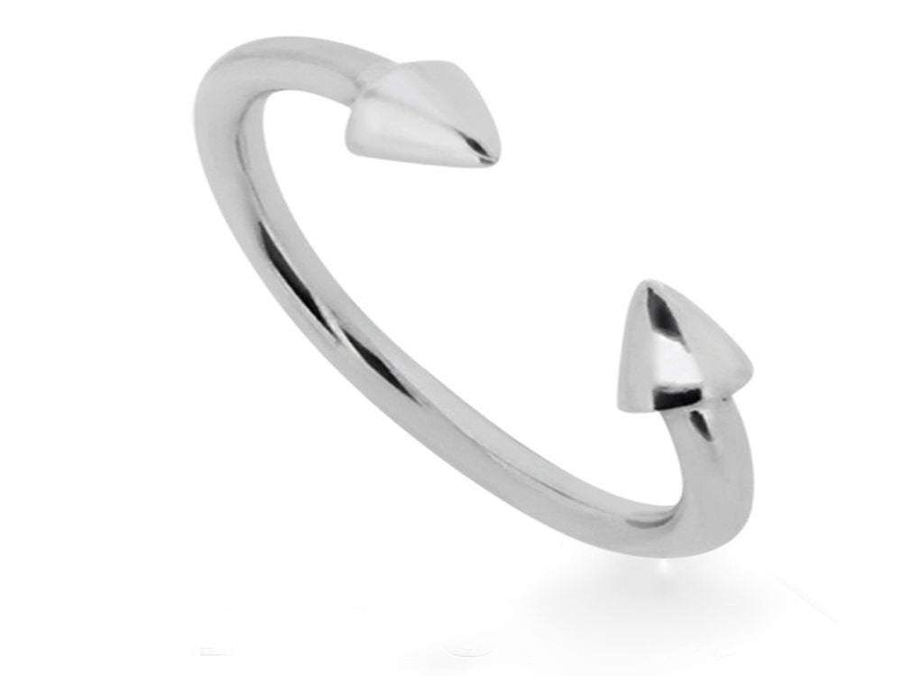 Midi Pointed .925 Sterling Silver Ring - Essentially Silver Jewelry