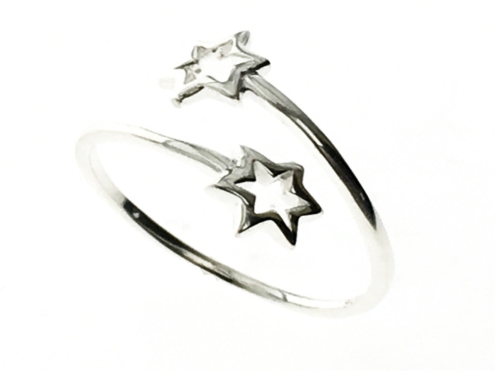 Star Wrap .925 Sterling Silver Ring - Essentially Silver Jewelry