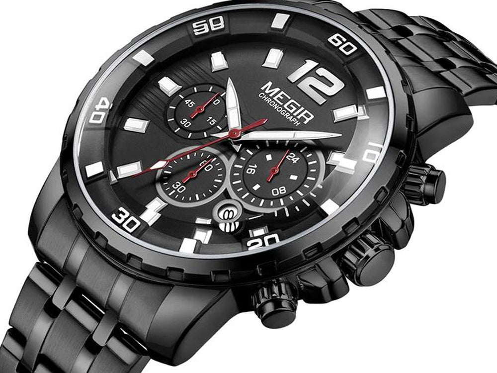 Megir Chronograph Mens Watch