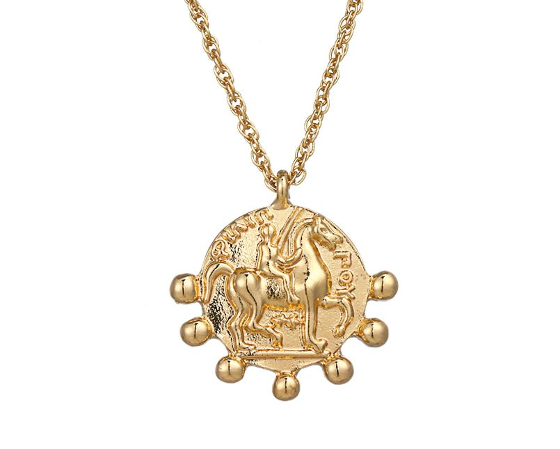 Fashion Gold Coin Necklace