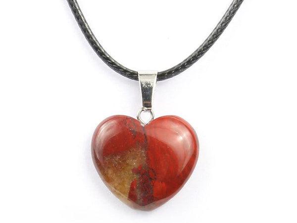 Heart Shape Rainbow Crystal Necklace