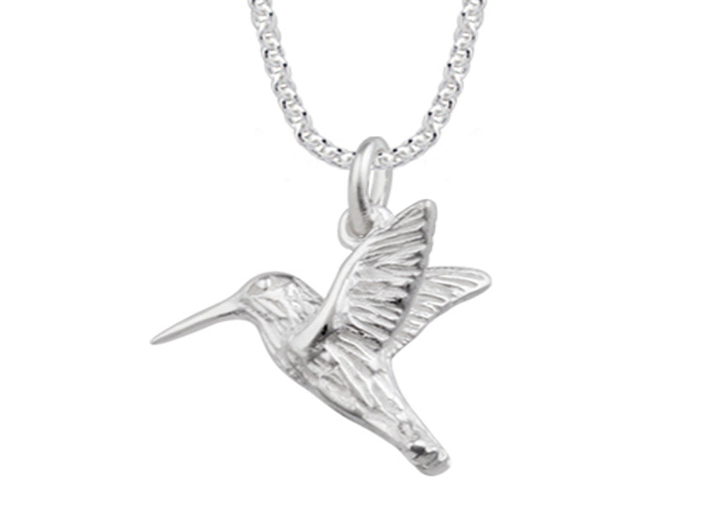 A Sterling Silver Bird Necklace - Essentially Silver Jewelry
