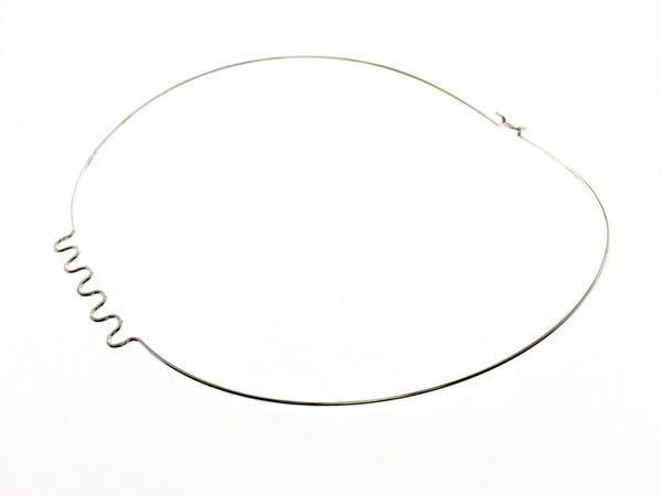 Collar Ripple 1.5mm Sterling Silver Wire - Essentially Silver Jewelry