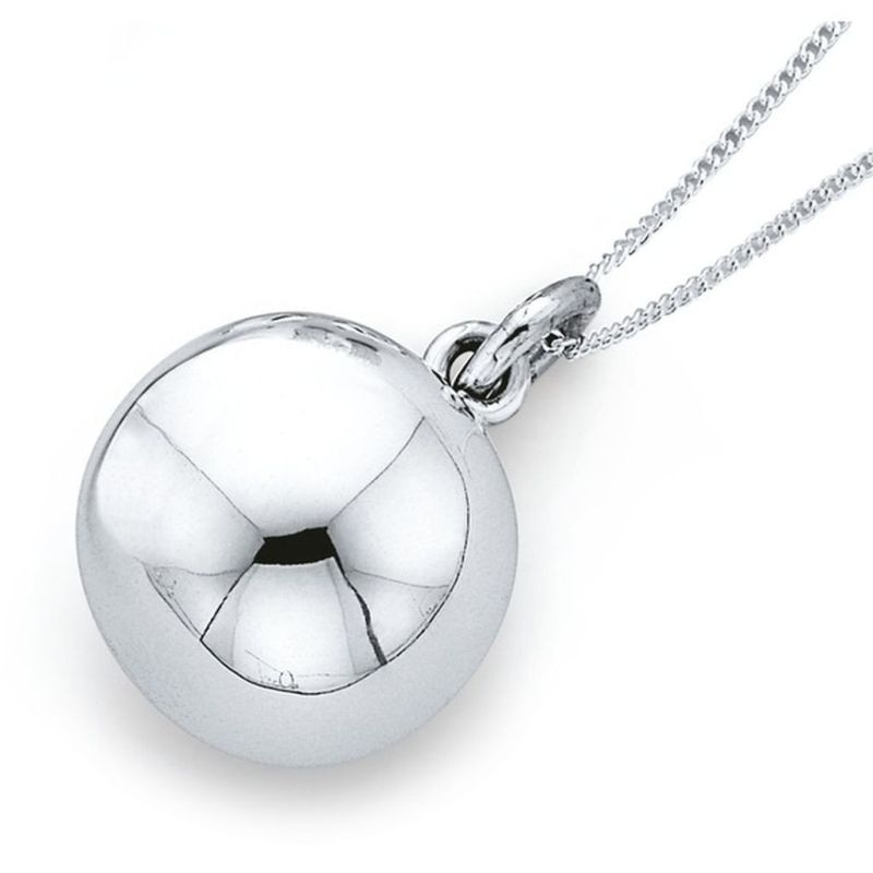 Harmony Ball 14mm Sterling Silver Pendant