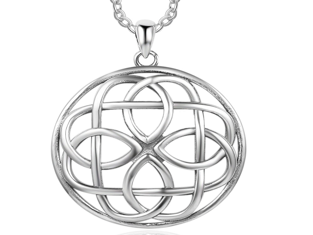 Celtic Sterling Silver Necklace